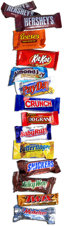 Snack Size Fun Size Candy Custom Candy Expresss